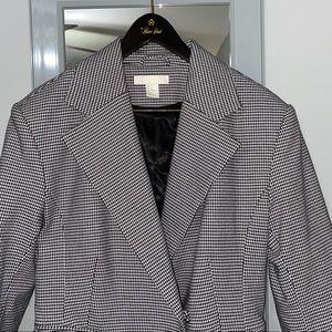 H&M Blazer in Black and White